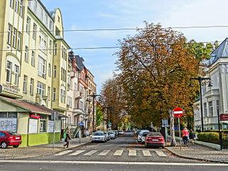 Słowackiego Street in Bydgoszcz Street in Bydgoszcz