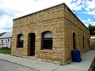 National Register of Historic Places listings in Carbon County, Montana - Image: Bearcreek Bank NRHP 04000251 Carbon County, MT