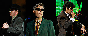 English: The Beastie Boys - Adam Horovitz, Ada...