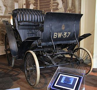 Automotive industry in New Zealand - 1898 Benz Velo 1-cylinder 1045 cc National Motor Museum Beaulieu UK