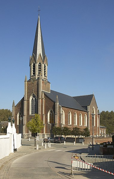 Church Saint Sulpice in Beauvechain, Belgium