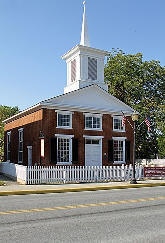 National Register of Historic Places listings in Bedford County, Virginia - Image: Bedford Historic Meetinghouse