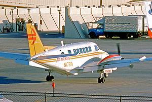 Rio Airways - Image: Beech 99 B99 N17RA Rio Aws DFW 20.10.75 edited 3