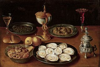 Still-life with oysters.