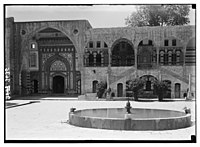 Beit Ed-Din. The Shehab Palace (held as a national monument). The inner court and fountain LOC matpc.02858.jpg