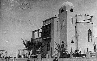 Hayim Nahman Bialik - Beit Bialik mid 1920's