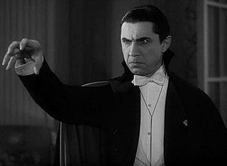 Vampire films - Bela Lugosi in Dracula.