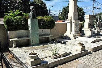 Nikola Pašić - Pašić's grave in Belgrade