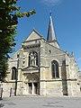 Belloy-en-France (95), église Saint-Georges, façade sud-ouest.jpg