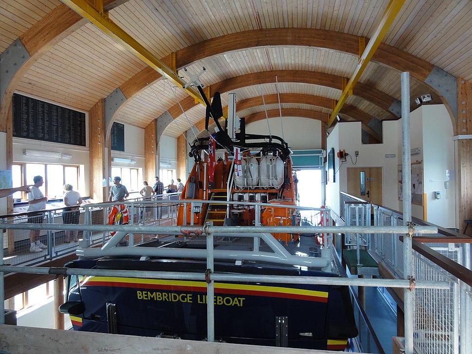 Bembridge Lifeboat Station interior