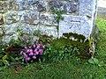 Benchmark on St Michael ^ All Angels Church, Park Road - geograph.org.uk - 2093951.jpg
