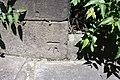 Benchmark on buttress of Bridge ECM7 11, Manor Grove (geograph 3236425).jpg