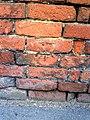 Benchmark on the roadside wall of ^87 Radley Road - geograph.org.uk - 2295642.jpg