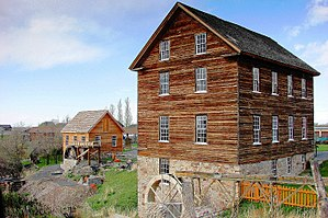 National Register of Historic Places listings in Tooele County, Utah - Image: Benson Grist mill 4