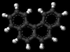 Benzo(c)phenanthrene - Image: Benzo(c)phenanthrene 3D balls