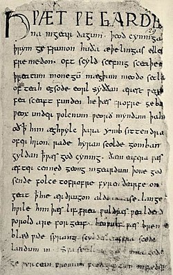 Old English literature - Wikipedia, the free encyclopedia