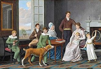 William Berczy - William Berczy, The Woolsey Family (1809)