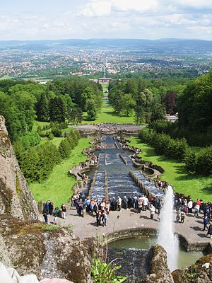 Bergpark Wilhelmshöhe - View towards Kassel