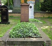 Grab auf dem Dreifaltigkeitskirchhof II in Berlin-Kreuzberg (Quelle: Wikimedia)