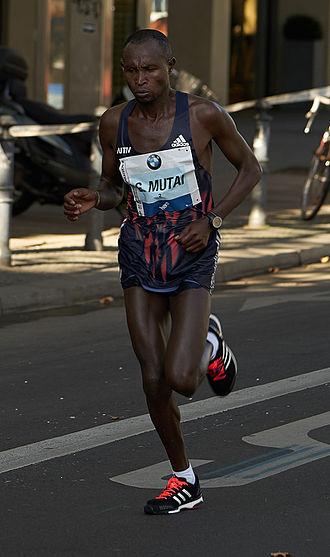 Geoffrey Mutai - Image: Berlin Marathon 2015 Runners 5