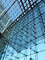 Berliner Hauptbahnhof, Glasdach 01.JPG