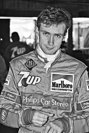 Bertrand Gachot - Gachot at the 1991 United States Grand Prix