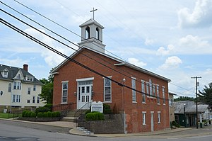 Beverly, Ohio - Beverly Presbyterian Church, Ferry and Fourth Streets