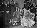 Bezoek Franse president en mevrouw Coty aan Amsterdam, bezoek Instituut Francais, Bestanddeelnr 906-6100.jpg