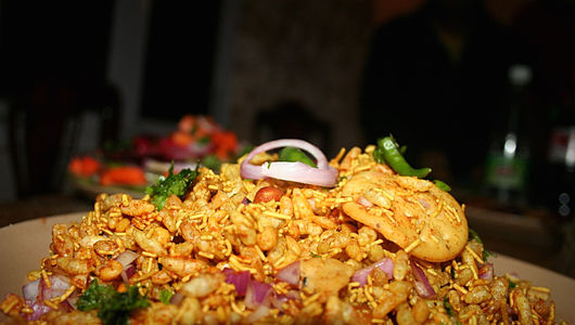 Bhel Puri, a common evening snack.jpg