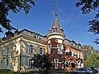 Białystok Dojlidy Fabryczne 23, Pałac Hasbacha