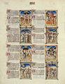 Bible moralisée de Philippe le Hardi - BNF Fr166 - Folio 3v.jpg