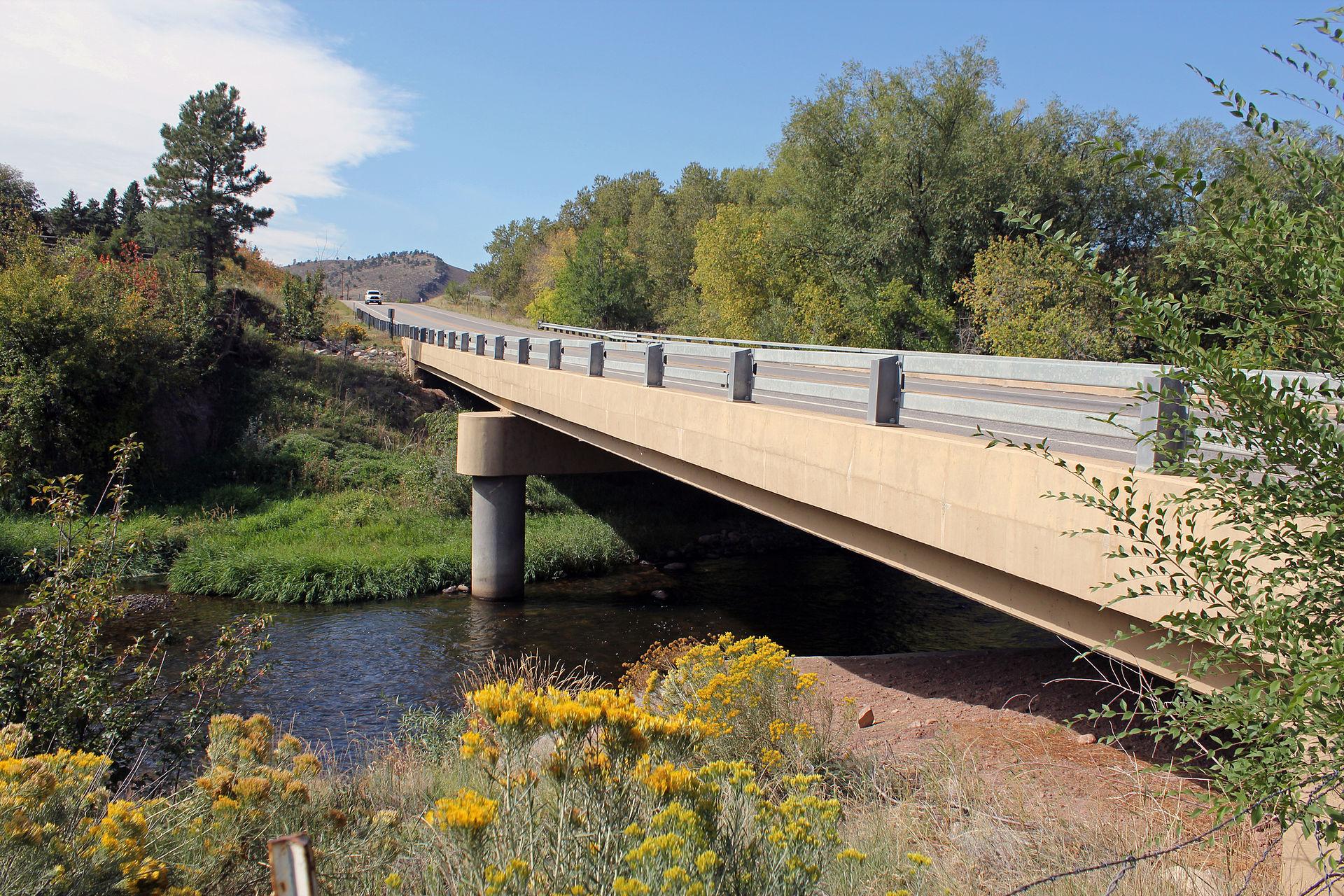 bridge on the river - photo #30