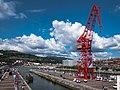 Bilbao - Museo Marítimo - Grúa Carola 02.jpg