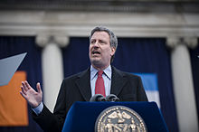 de blasio speaking at his january as new york city public advocate