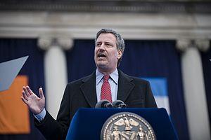 Bill de Blasio - De Blasio speaking at his January 2010 inauguration as New York City Public Advocate