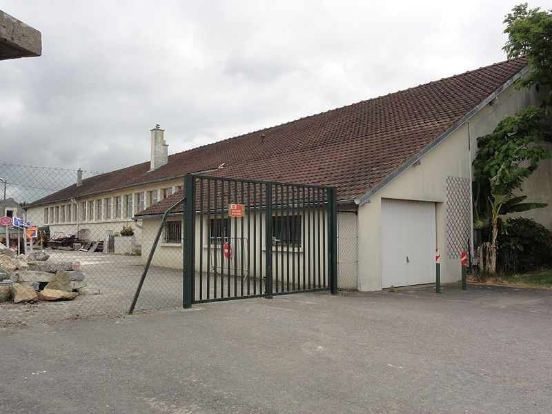 Billy-sur-Aisne (Aisne) école George Hubou