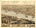 Bird's eye view of Jefferson City, the capitol of Missouri 1869. LOC 73693479.jpg