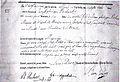 Birth certificate Poelaert 1817.jpg