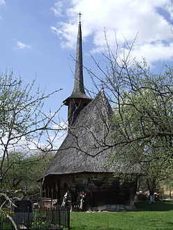 Wooden church of Păuşa