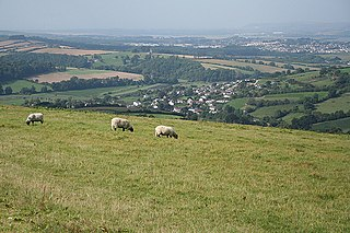 Bishops Tawton village in United Kingdom