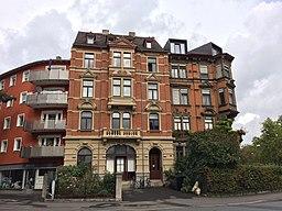 Bismarckstraße in Würzburg