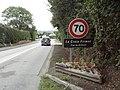 Biville (Manche) entrée de La Croix Frimot.jpg