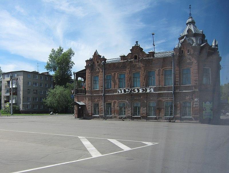 Biysk Museum on Sovetskaya Street in Biysk.jpg