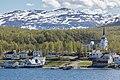 Bjorelvnes and Lenvik kirke.jpg