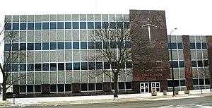 Black Hawk County Courthouse (Iowa) - Black Hawk County Courthouse