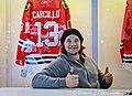 Blackhawks Daniel Carcillo — at McCormick Place IMG 2362 (8519638854).jpg
