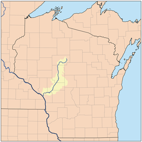 Image illustrative de l'article Black River (Wisconsin)
