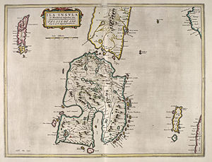 Islay - Image: Blaeu Atlas of Scotland 1654 ILA INSVLA The Isle of Ila