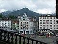 Blick vom Kloster auf Einsiedeln - panoramio.jpg