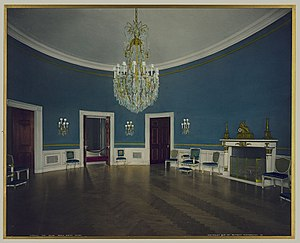 Blue Room (White House) - Image: Blue Room TR